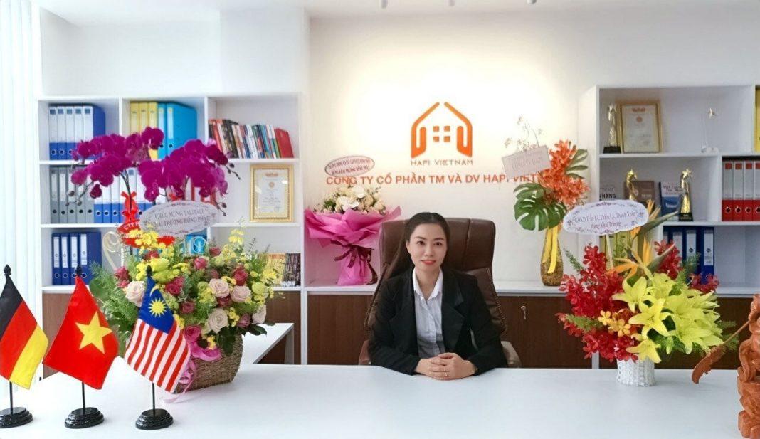 nữ doanh nhân Nhi Trần