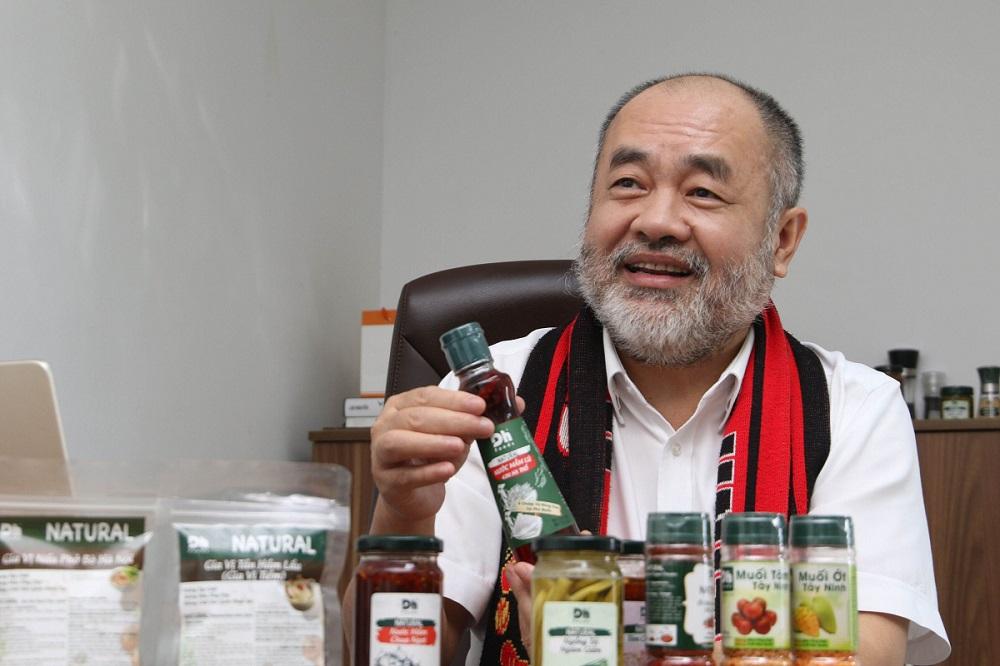 Mong nhớ hương vị Việt những năm xa quê đã thôi thúc ông thành lập Dh Foods