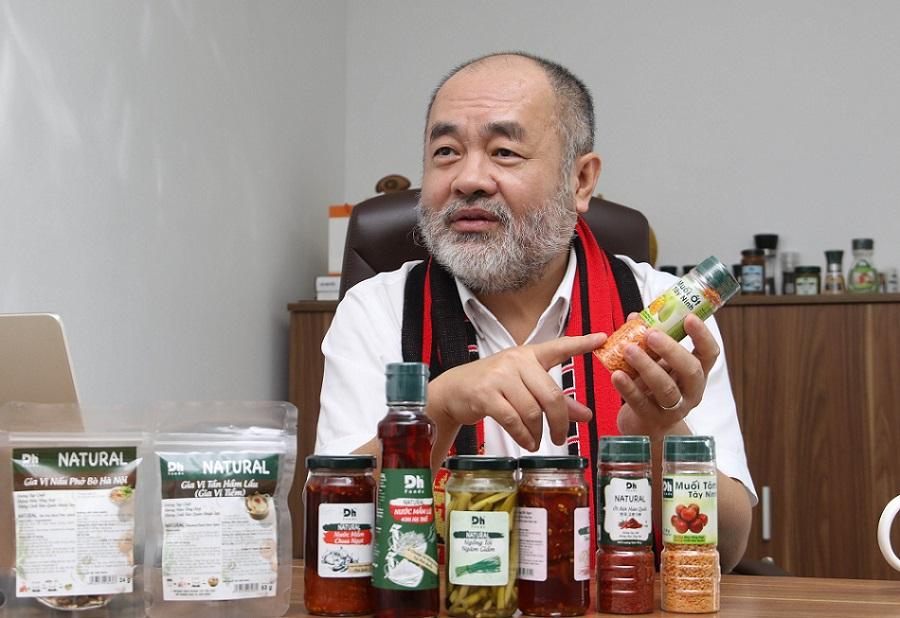 Dh Foods là niềm tự hào, là tâm huyết của ông Nguyễn Trung Dũng