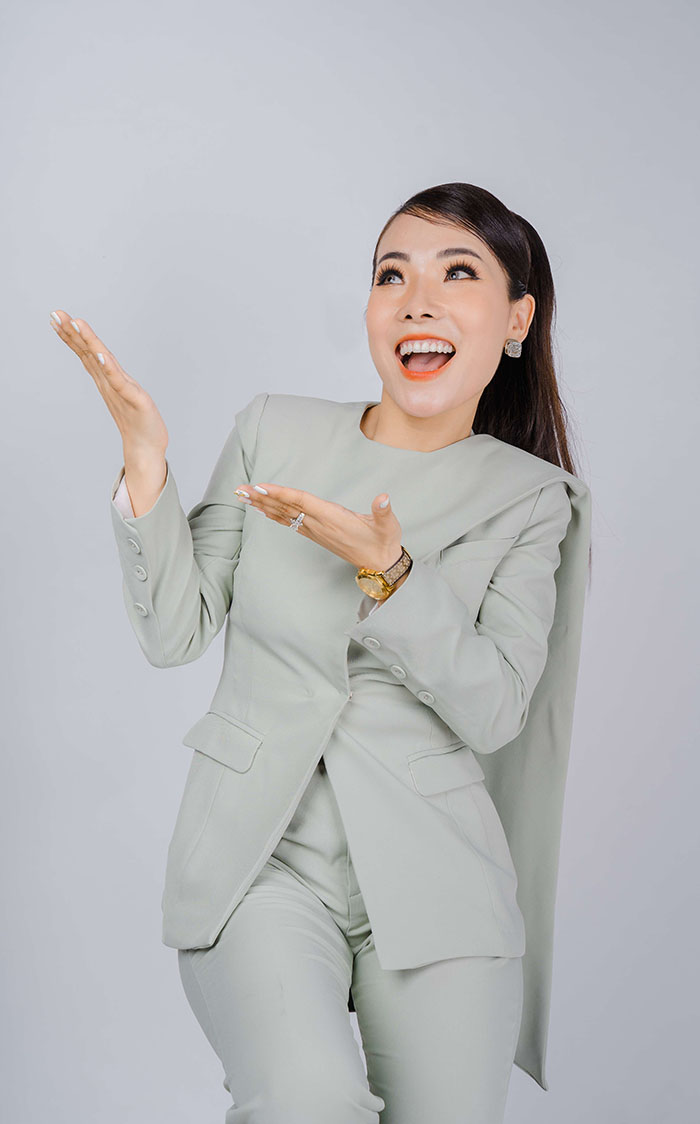 Chị Vân Anh liên tục cập nhật kiến thức chuyên môn