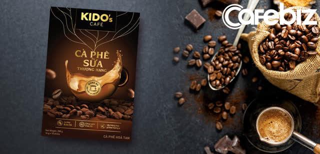KIDO sắp tung ra thị trường sản phẩm cà phê hòa tan mang thương hiệu KIDO.