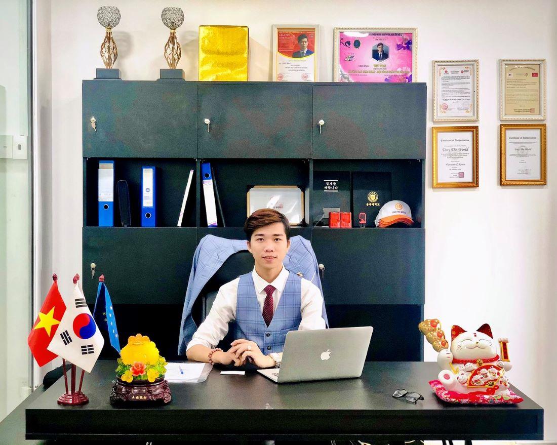 CEO trẻ nhiệt huyết, đầy năng lượng - Tony Phan