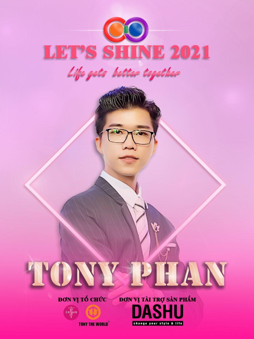 CEO Tony Phan được mời đồng hành ở vị trí giám khảo Let's Shine 2021